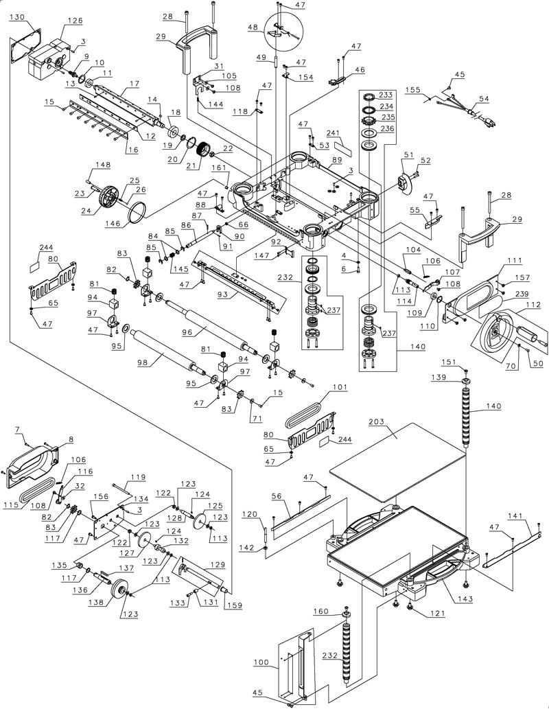 Powerhousetoolparts alarm transformer connections diagram wiring diagram dw 124 dewalt drill 10