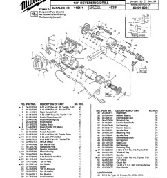 parts for 1101 1 ser 493b powerhouse distributing milwaukee drill replacement switch wiring milwaukee drill switch wiring diagram [ 800 x 1026 Pixel ]