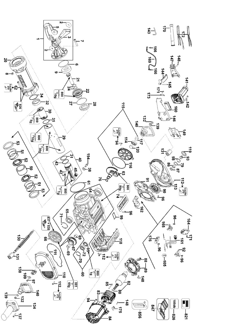 Dewalt D25980 Wiring Diagram : 28 Wiring Diagram Images