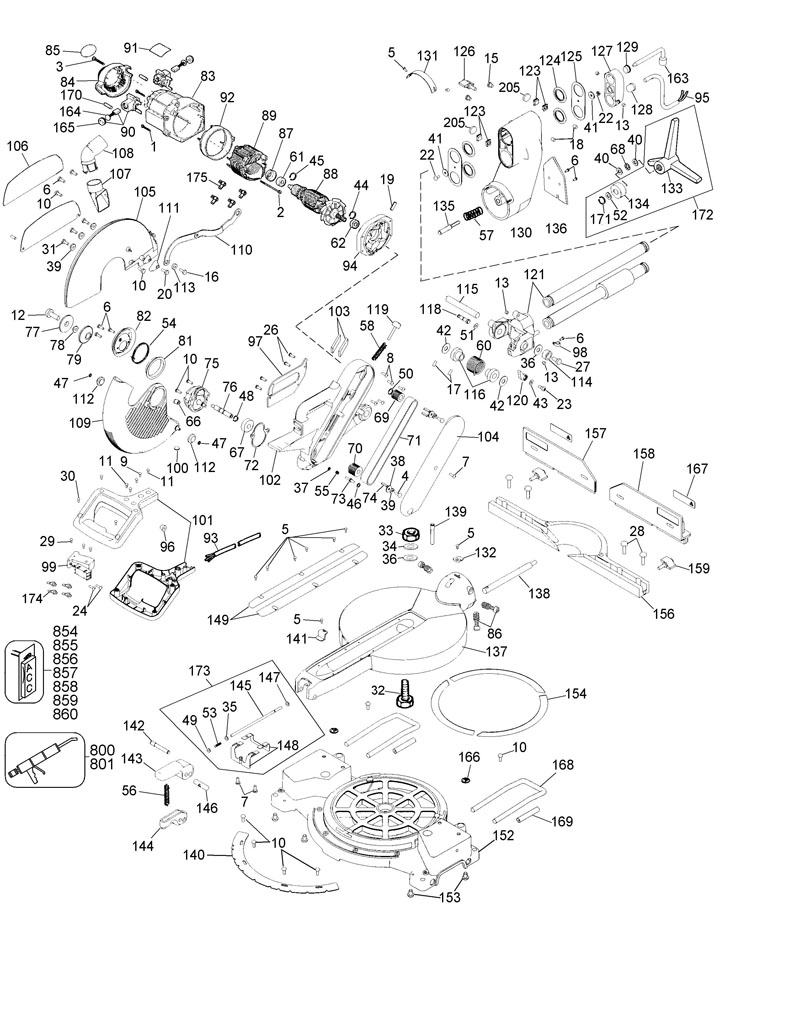 parts for dw708 type 3 powerhouse distributing