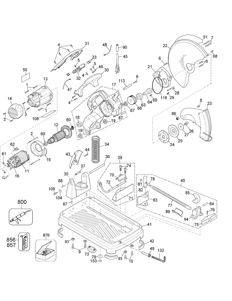 Wiring Diagram For De Walt Radial Arm Saw Wiring Diagram
