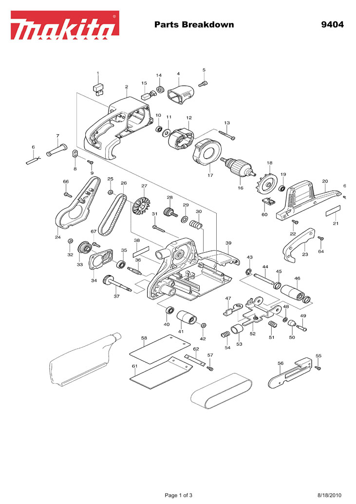 Hilti Tool Parts Breakdowns. Parts. Wiring Diagram Images