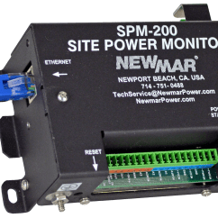 Marine Battery Monitoring System Ezgo Wiring Diagram Site Power Monitor Newmar Powering The Network