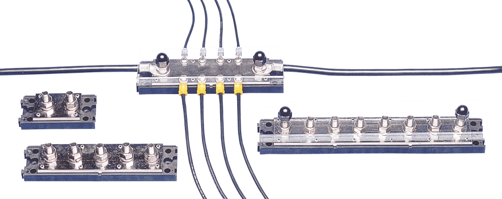 medium resolution of terminal strips buss bars newmar powering the network wiring low voltage bus bar