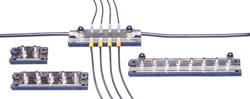 small resolution of terminal strips buss bars newmar powering the network wiring low voltage bus bar