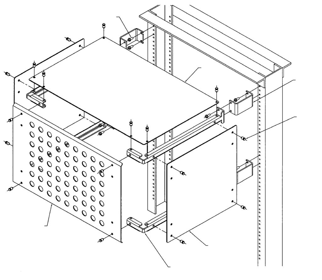 Telecom Rackmount Circuit Breaker Dc Distribution Panels