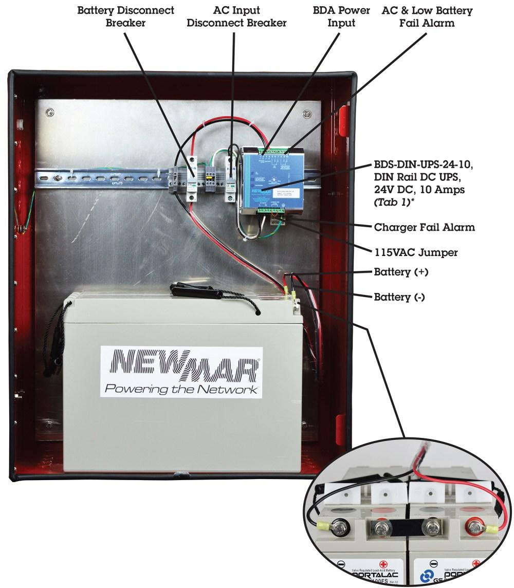 medium resolution of 24 volt nfpa 1221 integrated power system