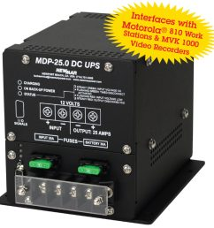 mobile data power provides dc back up power 12v dc 25 amps with [ 1011 x 1024 Pixel ]