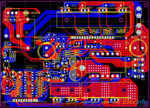 high voltage circuit diagram vdo tachometer wiring diagrams 12v 300w uni-polar isolation pure sine wave inverter design