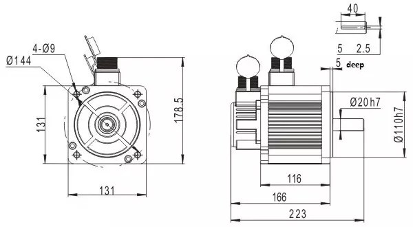 SM130 Servo Motor Series for Industrial Automation