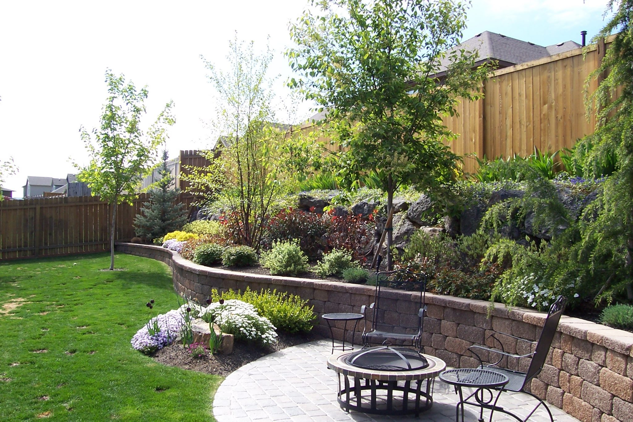 Boise backyard landscaping
