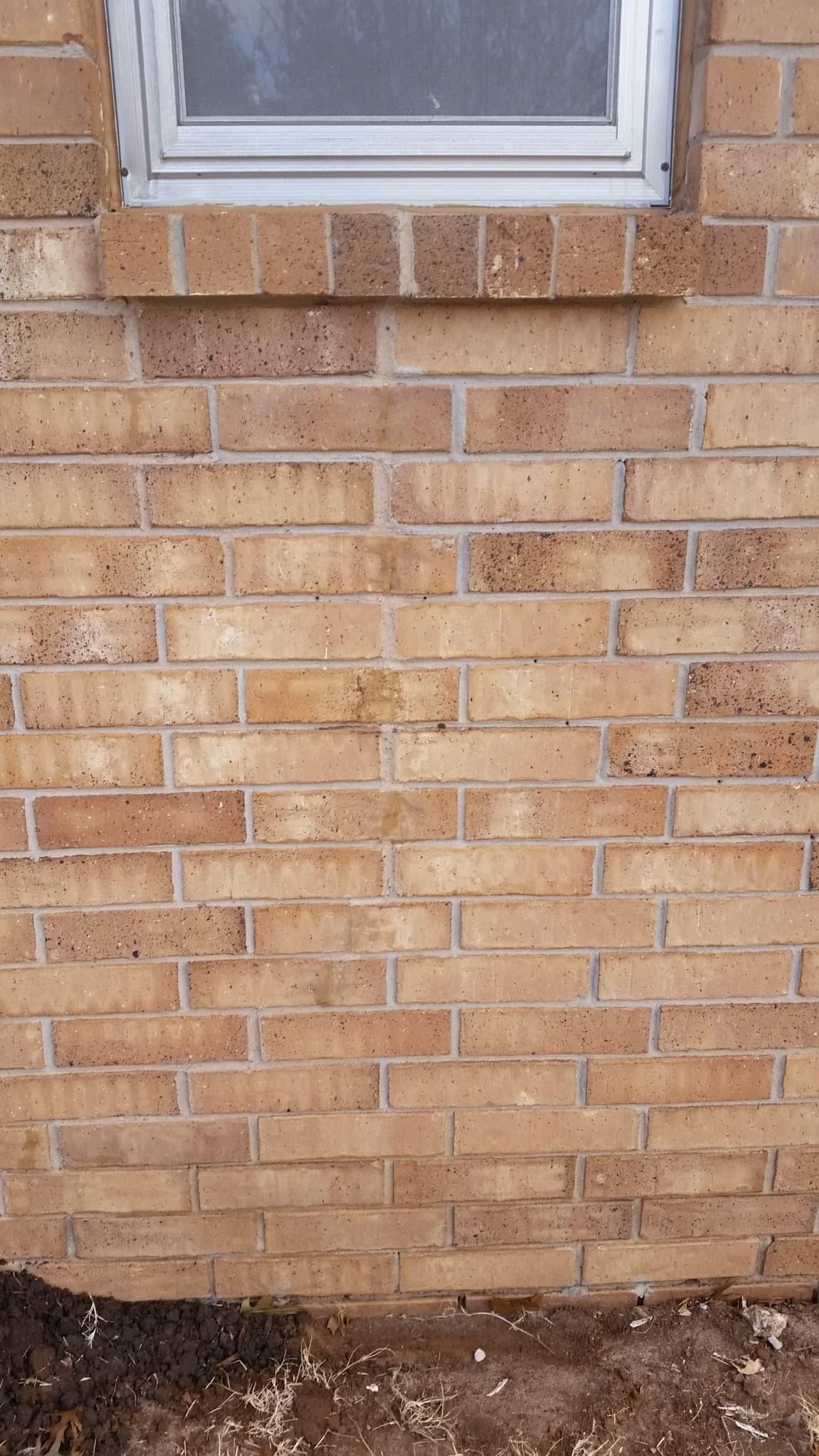 Residential Foundation Problems Brick House  Powerlift Foundation Repair Oklahoma