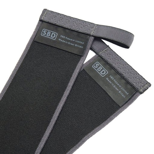 Fasce sollevamento pesi SBD black