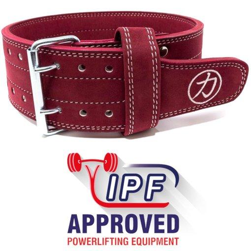 cintura weightlifting rossa