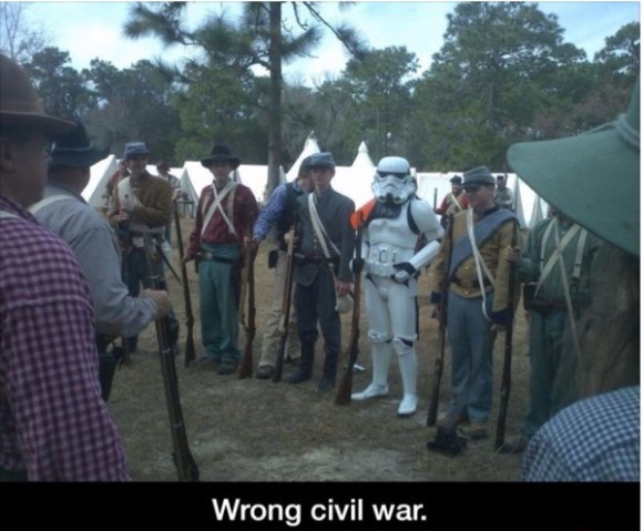Wrong Civil War copy
