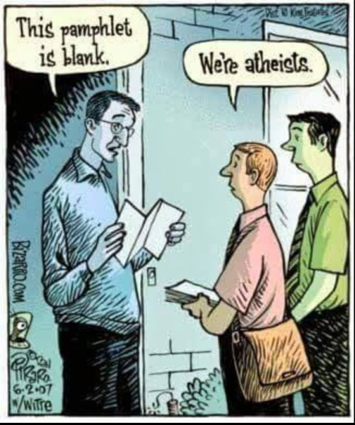 Door to door atheists copy