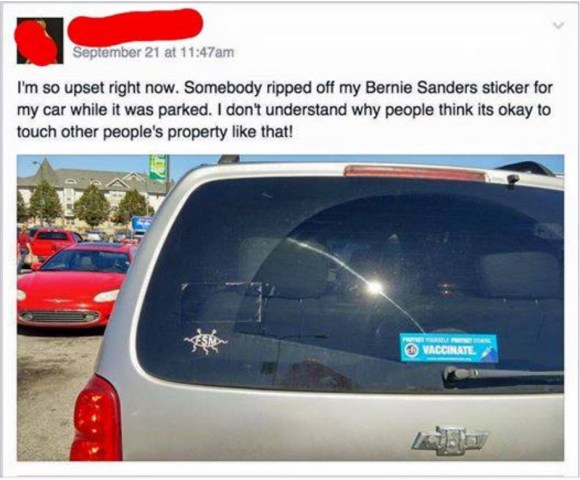 Sanders Sticker Irony copy