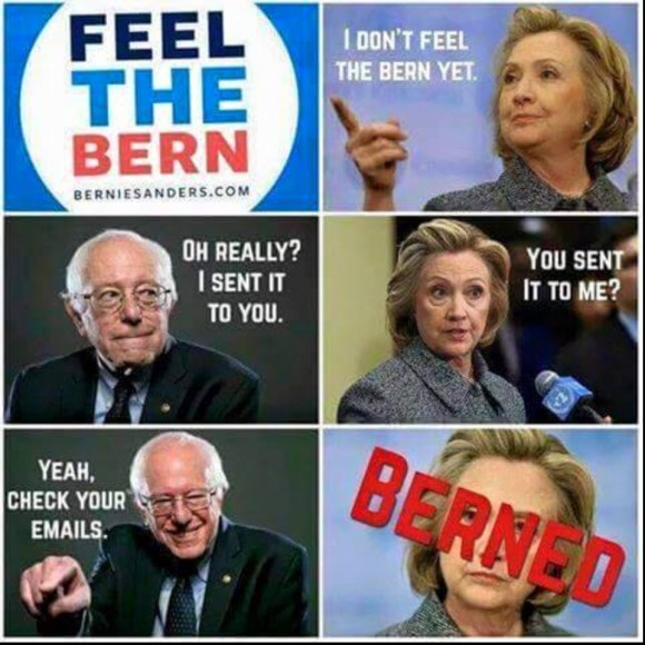 Feel the Bern copy