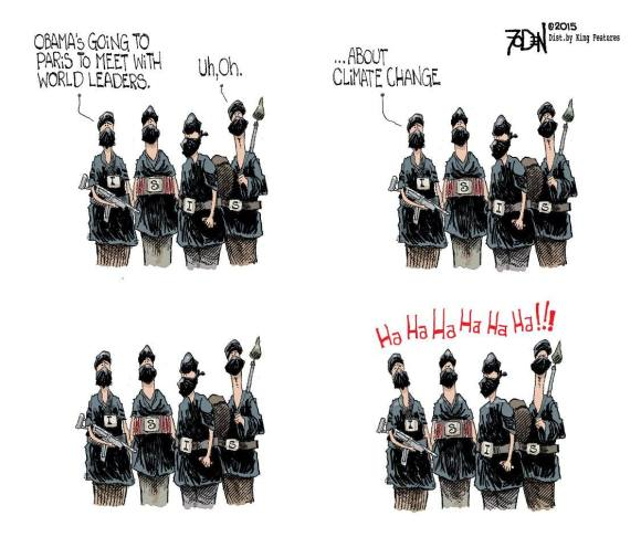 Obama Climate ISIS