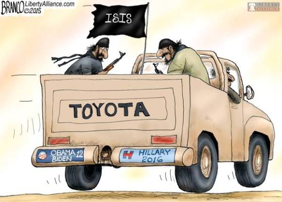 ISIS for Hillary