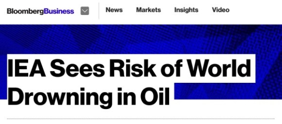 IEA Drowing in Oil