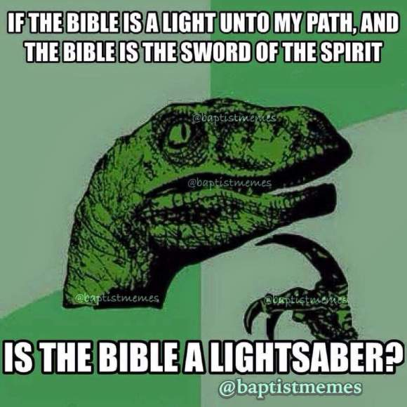 Bible Light Saber