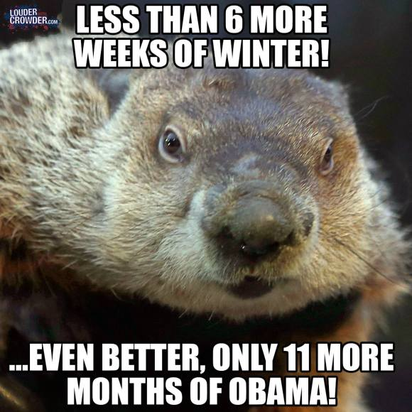 Obama Ground Hog