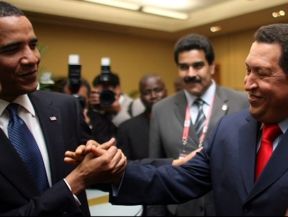 venezuela-hugo-chavez-barack-obama-summit1