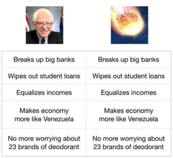 Bernie vs Meteor copy