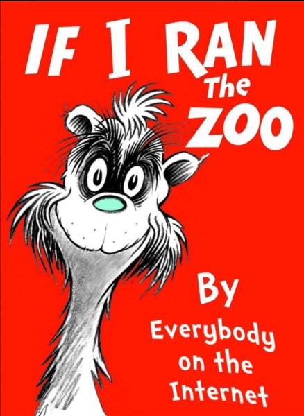 If I Ran the Zoo copy