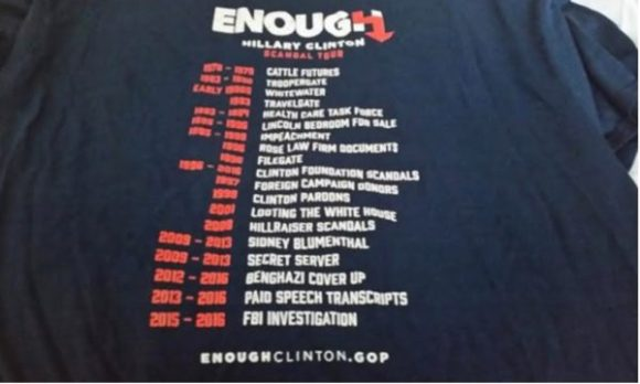Enough HIllary copy