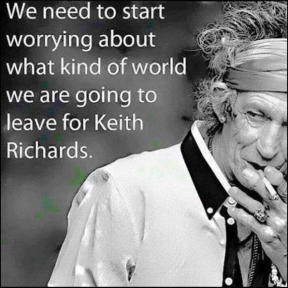 Leave for Keith Richards copy