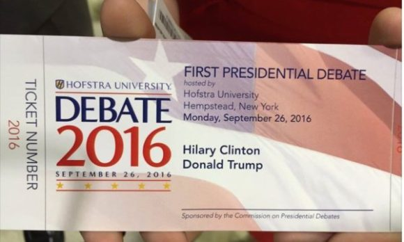 """Hilary"" Clinton? Maybe she's sending her body double out to the debate stage."