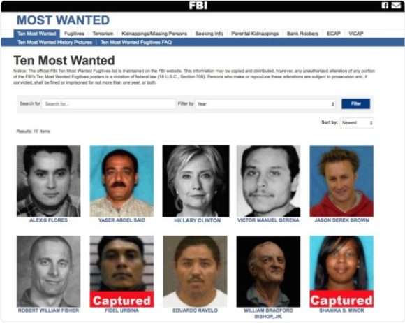 10-most-wanted