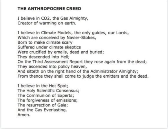 anthropocene-creed