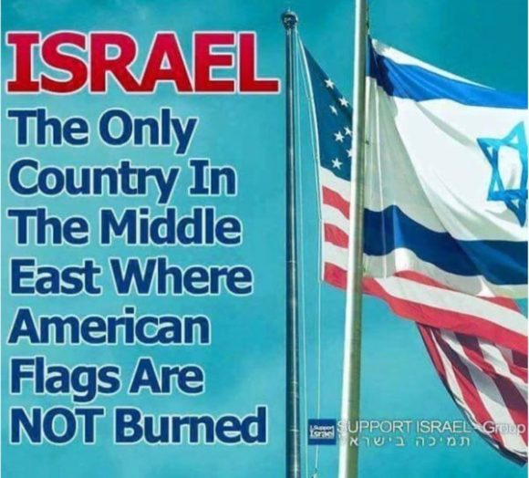 israsel-flags