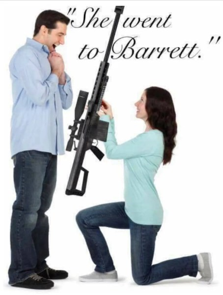 She went to Barrett
