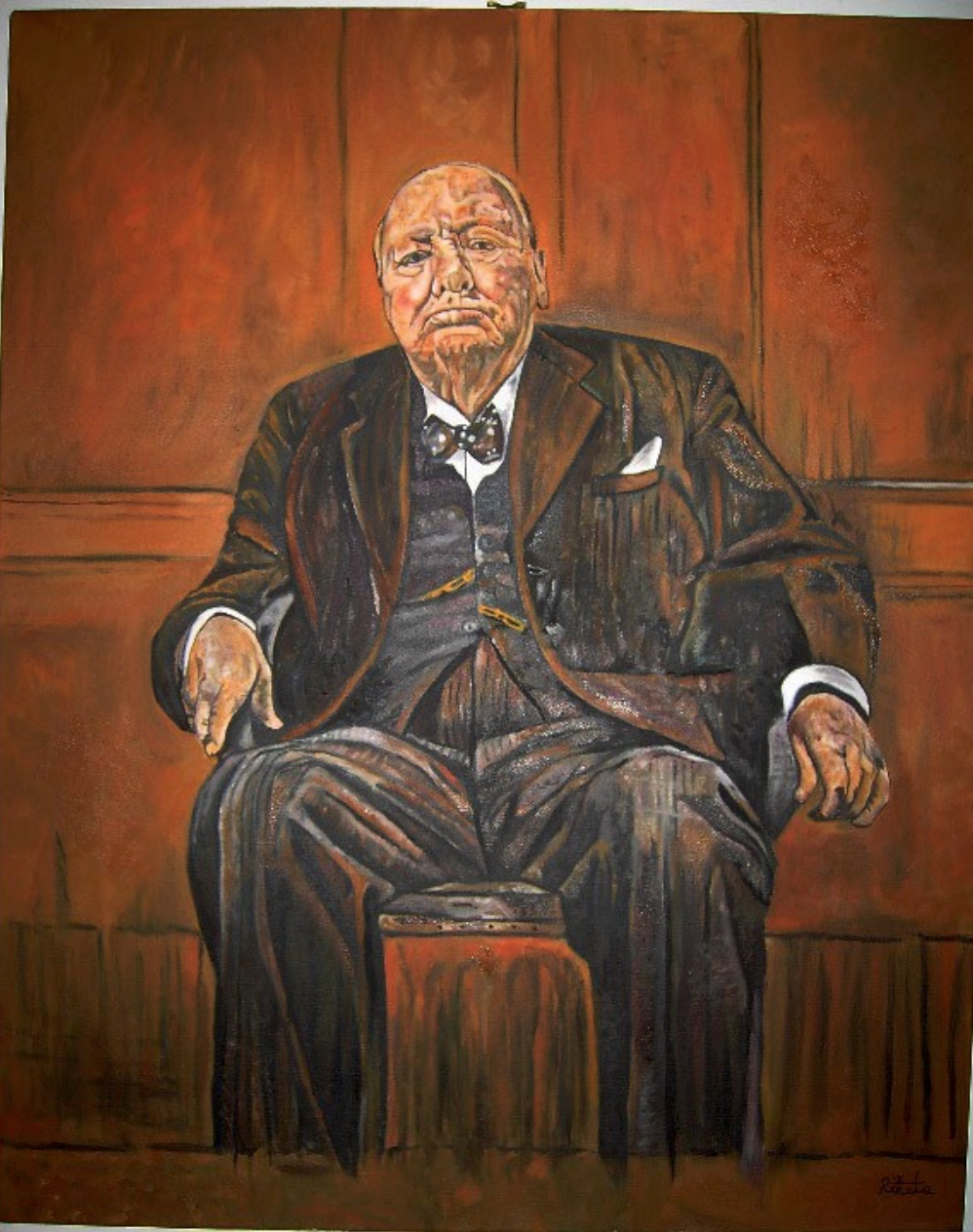 Graham Sutherland Winston Churchill : graham, sutherland, winston, churchill, Portraits:, Obama, Edition, Power