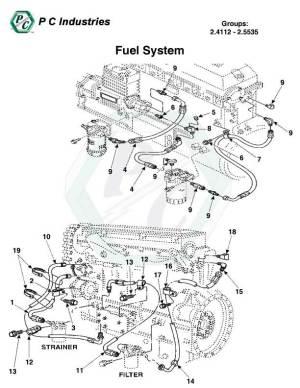 Fuel System  Series 60 Detroit Diesel Engines Catalog
