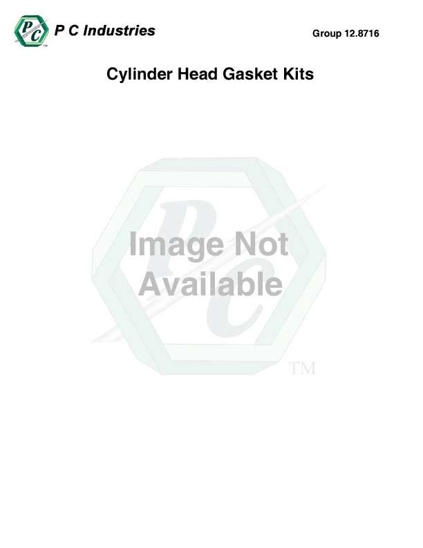 Cylinder Head Gasket Kit Contents For Part #'s 23532333
