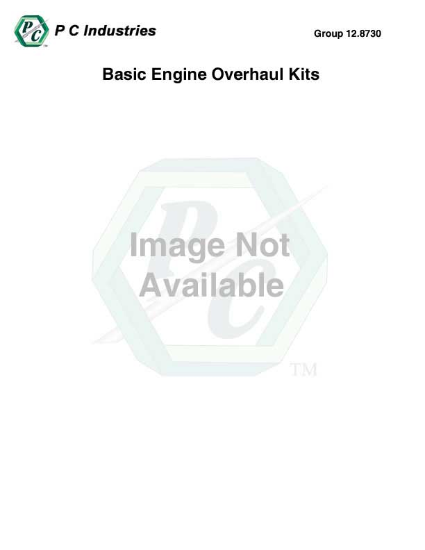 Basic Engine Overhaul Kit Contents For Part #23532584
