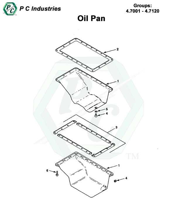 Vanagon Engine Oil Pan Schematics