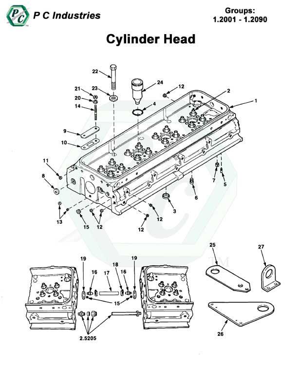 92_cylinder_head_pg3-4 Perkins M Wiring Diagram on
