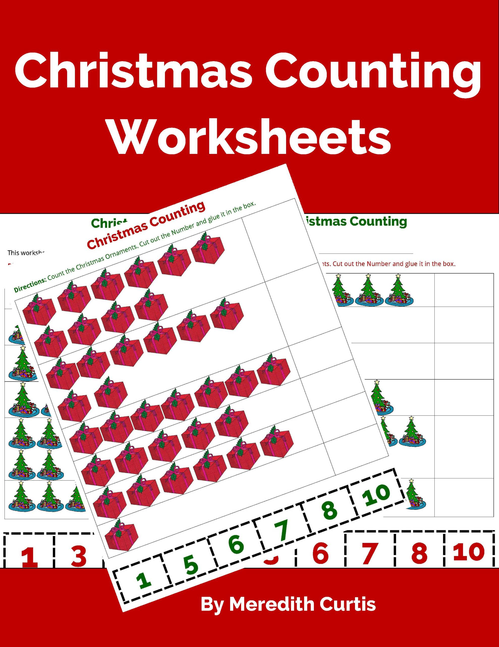 Christmas Counting Worksheets Powerline Productions