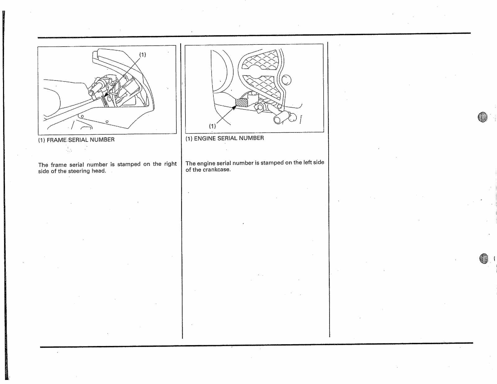 Honda NSR50 R Service Manual Free Download