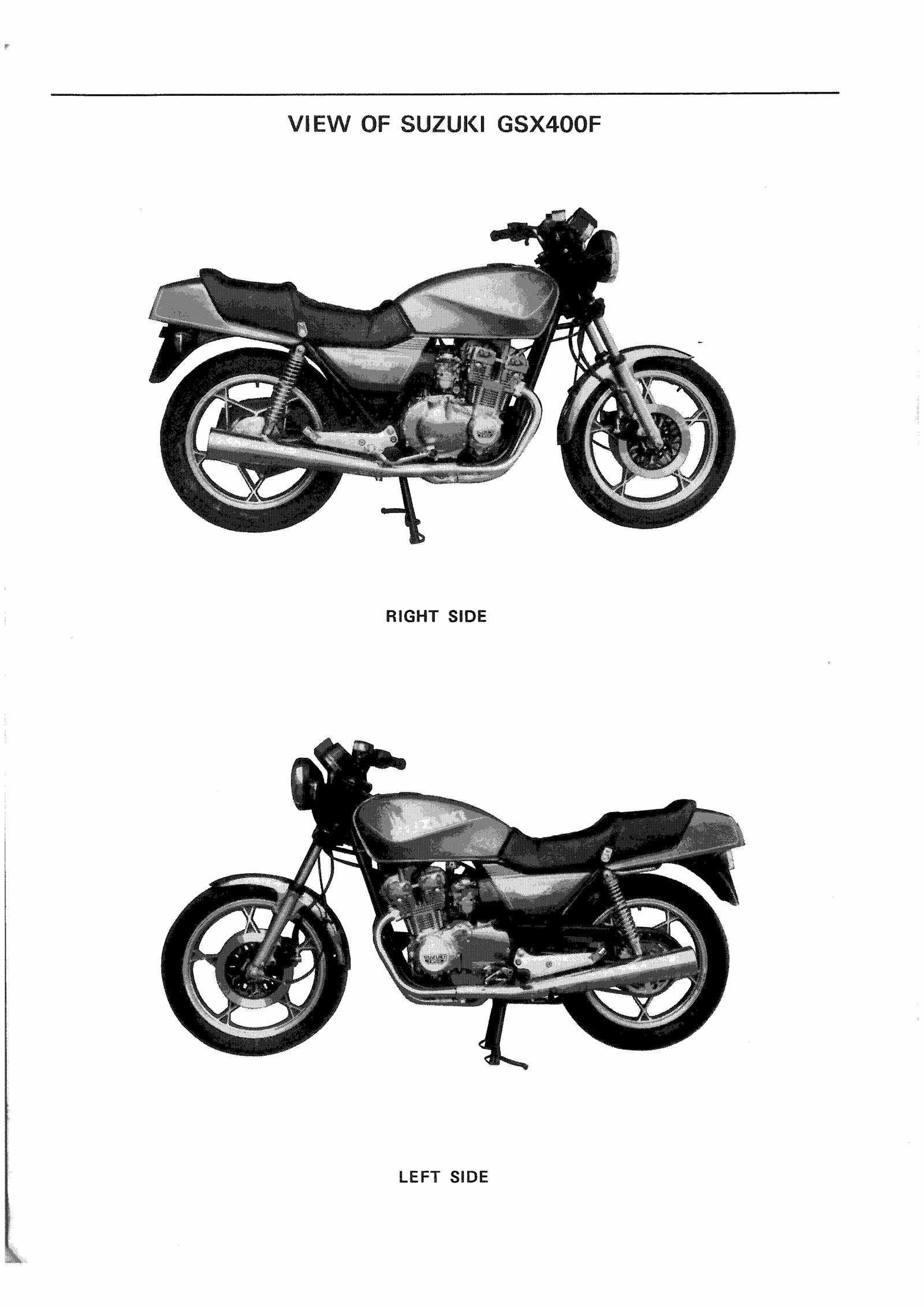 Suzuki GSX400 F FZ FD 81-83 Service Manual Free Download