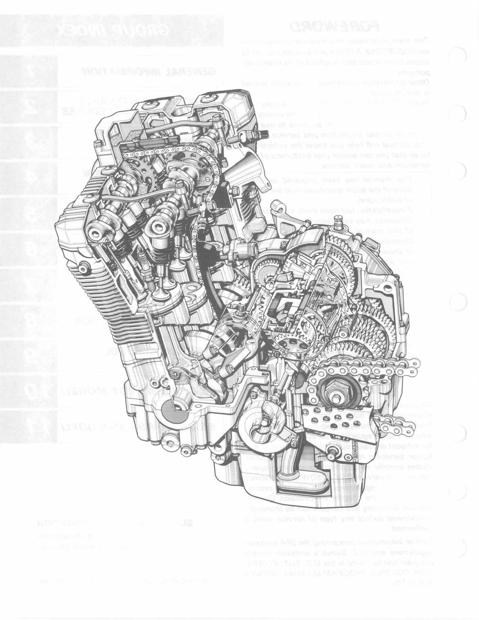Suzuki GSX R750 W 93-95 Service Manual Free Download