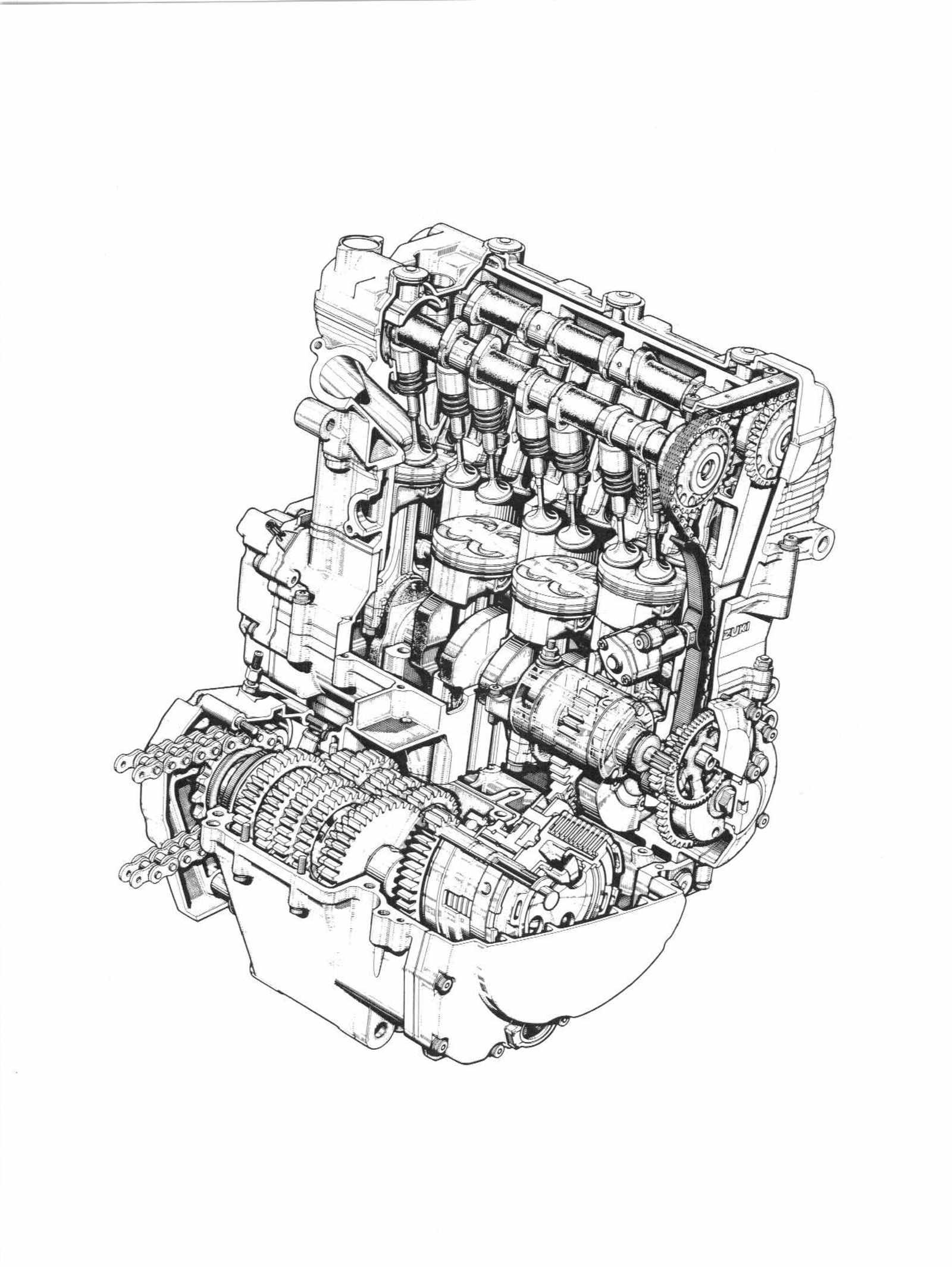 Suzuki GSX R600 R600V R600W R600X Service Manual Free