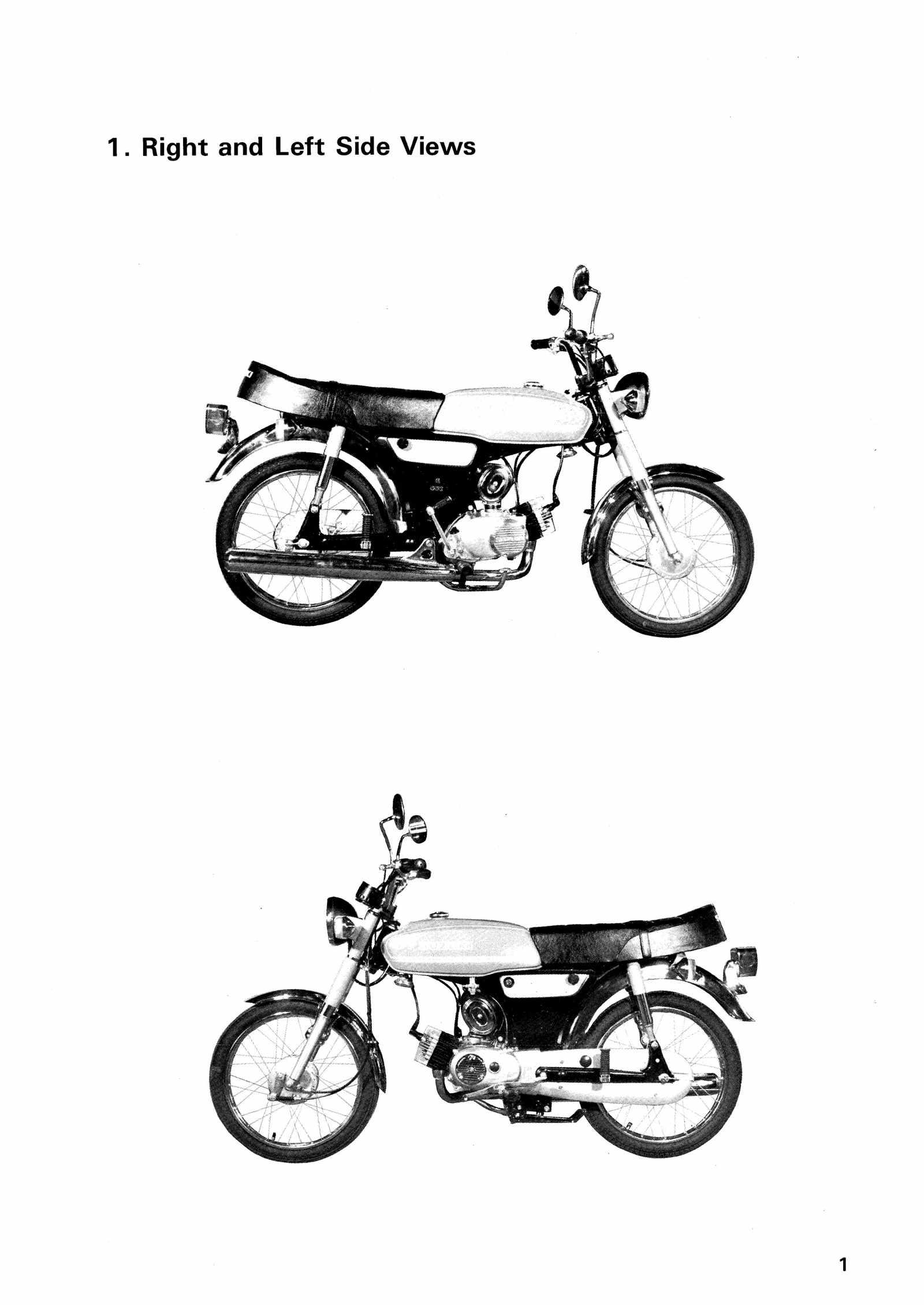 Suzuki A50 AS50 69-81 Service Manual Free Download