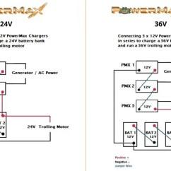 2 Battery Boat Wiring Diagram Golf Mk5 Stereo Bowfishing Sponsors Powermax Converters 24 36v Combined